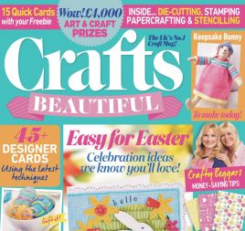 Crafts Beautiful September 2016 Issue 296 Template Pack