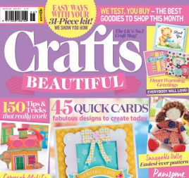 Crafts Beautiful June 2017 Issue 306 Template Pack