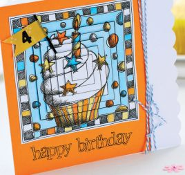 Pyramage Birthday Card