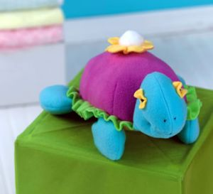 Fleeced Stitched Turtle Teddy Free Project