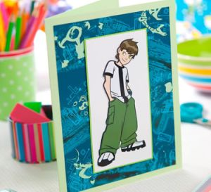 Ben 10 Cartoon Kids Cards