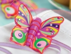 Colourful Polymer Clay Butterfly