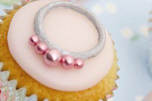 Pink & Silver Wedding Cupcake Recipe