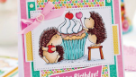Sweet Birthday Cake Card