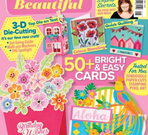Crafts Beautiful August 2018 Issue 321 Template Pack
