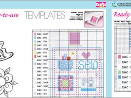 Crafts Beautiful January 2011 (issue 223) Template Pack