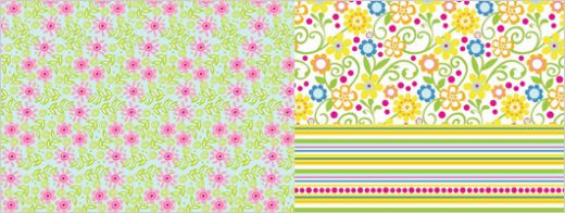 Easter Flower Free Papers