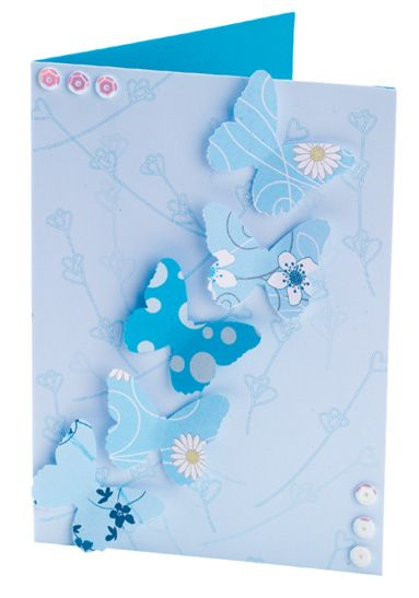 Martha stewart heart butterfly punched cards free for Martha stewart butterfly template