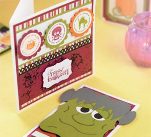 Little Monster Children's Halloween Cards