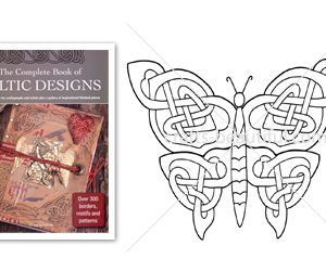 Knotted Celtic Butterfly Free Digital Download