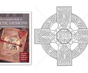 Detailed Celtic Cross Free Digital Download
