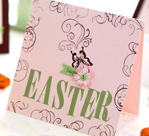 Stamped Quick Make Easter Card