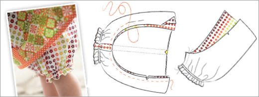 Baby Dress Bloomers Sewing Pattern Free Card Making Templates