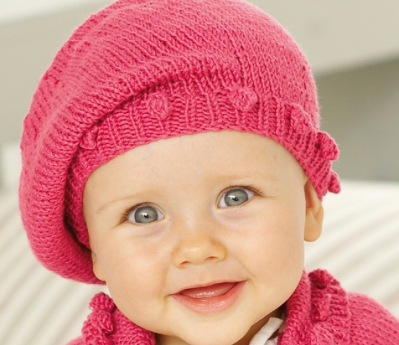 Free Knitting Pattern Toddler Beret : Arts and Crafts Ideas Crafts Beautiful Magazine