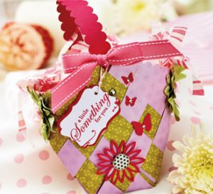Paper Weaving Gift Basket Tutorial