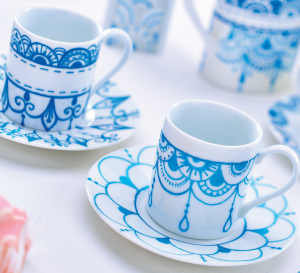 Blue & White China Patterns
