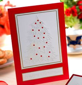 Paper Pricking Christmas Cards