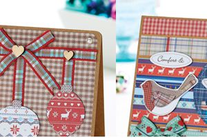 Scandi Christmas Cards Free Project
