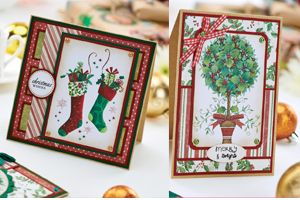 Traditional Christmas Cards Free Project