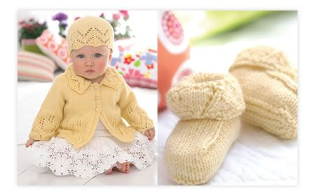 Mohair Scarf Knitting Pattern : Cute Baby Crochet Hat & Booties Free Pattern - Free Card Making Downloads...