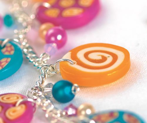 Polymer Clay Charm Necklace