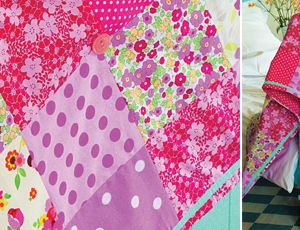 Chintzy Floral Summer Quilt Free Project