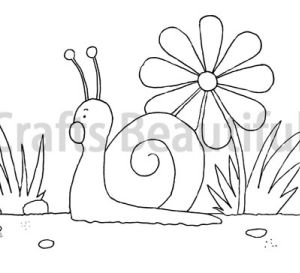 Snail Children's Craft Free Download