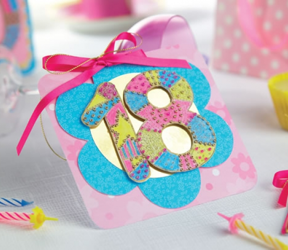 Embossed 3rd, 18th & 50th Birthday Cards - Free Craft Project ...