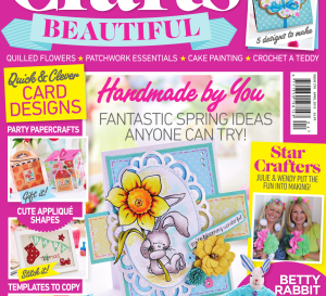 Crafts Beautiful April 2015 Issue 278 Template Pack