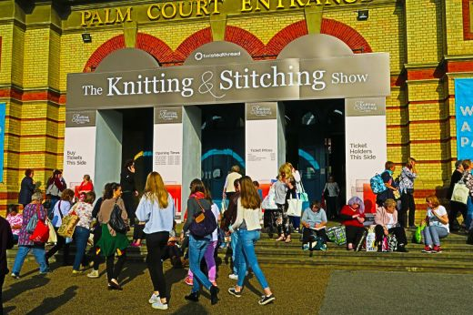 Win One of Five Pairs of Knitting & Stitching Show Tickets