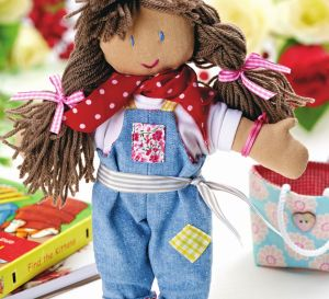 A cute bohemian doll for a little one