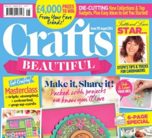 Crafts Beautiful August 2016 Issue 295 Template Pack