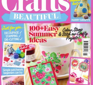 Crafts Beautiful August 2015 Issue 282 Template Pack
