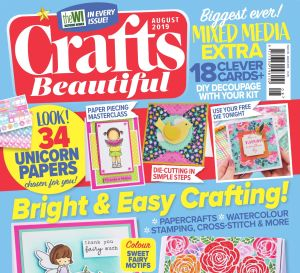 Crafts Beautiful August 2019 Issue 335 Template Pack