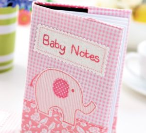 Elephant Applique & Baby Journal Templates