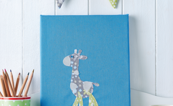 Baby's Canvas & Bunting