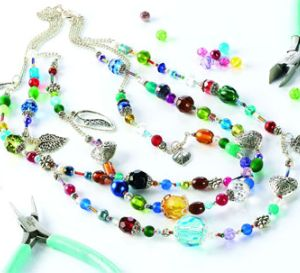 Make a… Mixed Bead Set Necklace