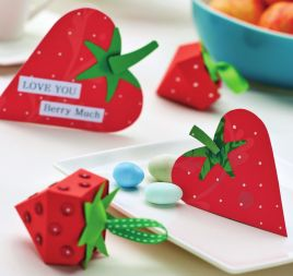 Berry Shaped Papercrafts