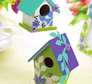 Birdhouse Themed Home Decorations