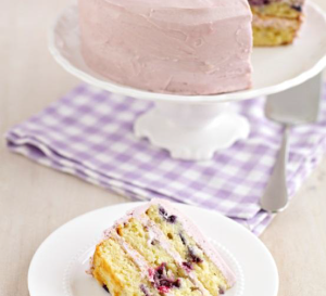 Blueberry & Lavender Cake