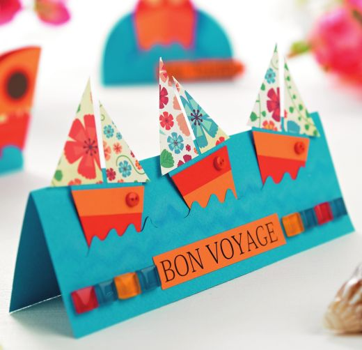 Boat greeting cards free card making downloads card for Image craft greeting cards