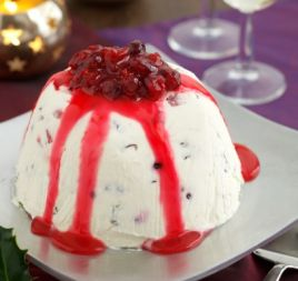 Christmas Ice-Cream Bombe