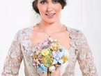 Craft a Fabric & Paper Bridal Bouquet