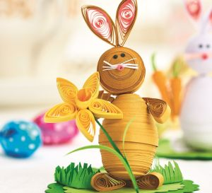 Quilled Easter Bunnies