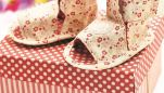Sew a Pair of Baby Sandals