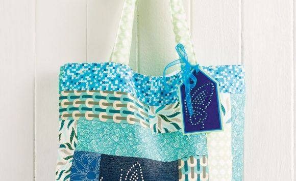 Rhinestone Bag and Card Gift Set