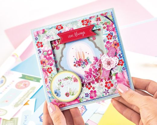 How To Use Your Crafter's Companion Shaker Card Kit