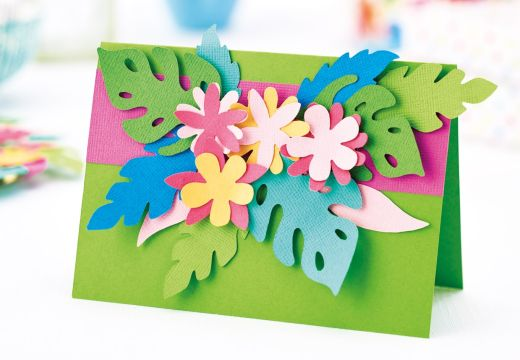 Tropical Papercrafts with Brother ScanNCut