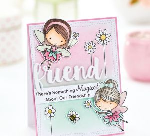 Easy Fairy Friends Greeting