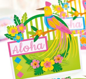 Tropical Fiesta Papercraft Set